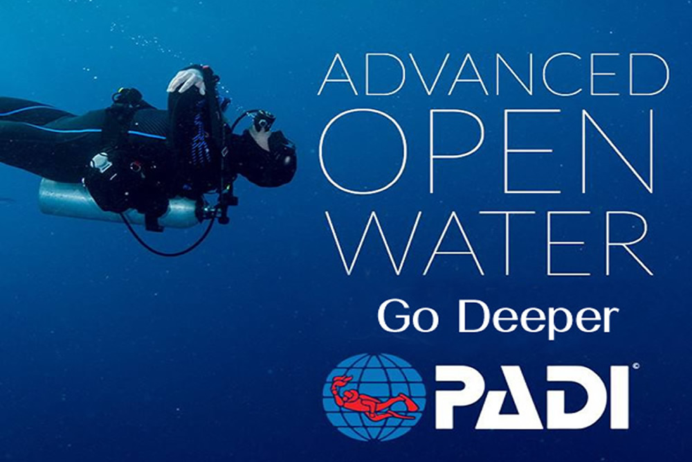 Advanced Open Water Diver - Escola de Mergulho