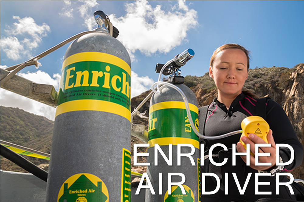 Enriched Air Diver - Escola de Mergulho