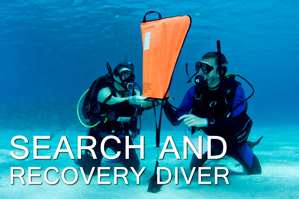 Search and recovery diver - Escola de Mergulho